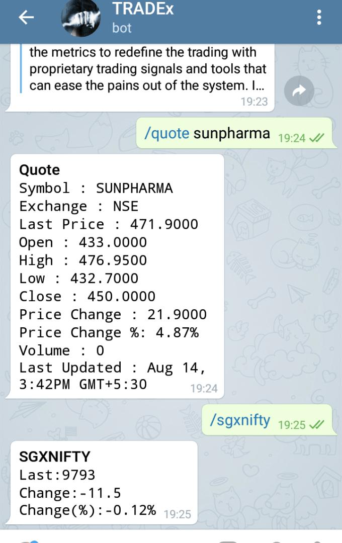 Rating: telegram buy and sell stock bot inside channel